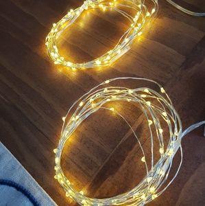(2) 10' Strings of Fairy Lights